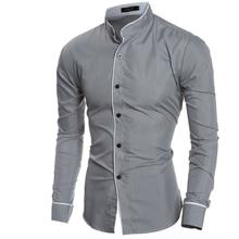 Мужская одежда Men Shirt Luxury Brand