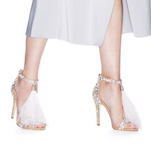 цена TINGHON Sexy Gladiator High Heels Open Toe Sandals Women Summer Rome Platform Shoes Ladies Ankle Strap Bandage Shoes онлайн в 2017 году