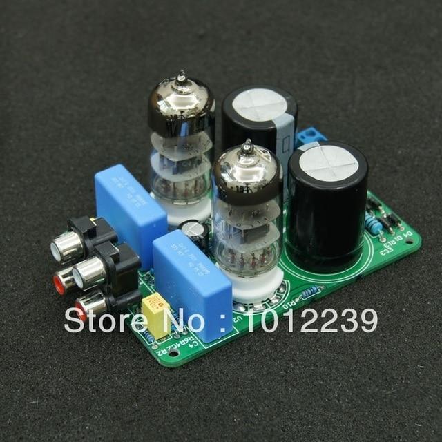 Assembled 6N3 Tube Buffer Amp Audio preamp board