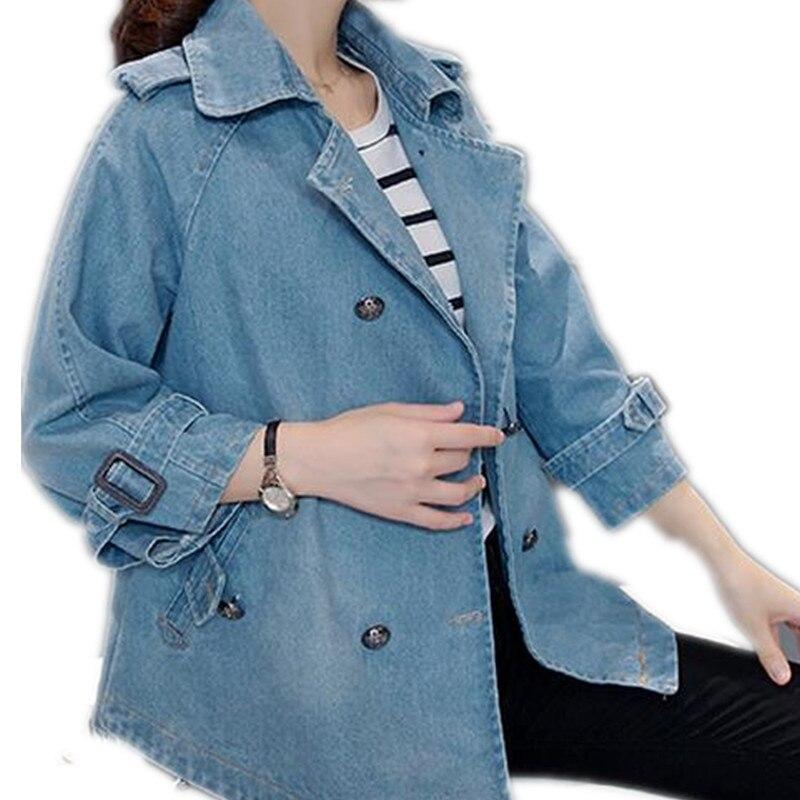 New Arrival Denim Jacket Women Cloak cape loose Plus Size Jeans Jacket Coat Tops