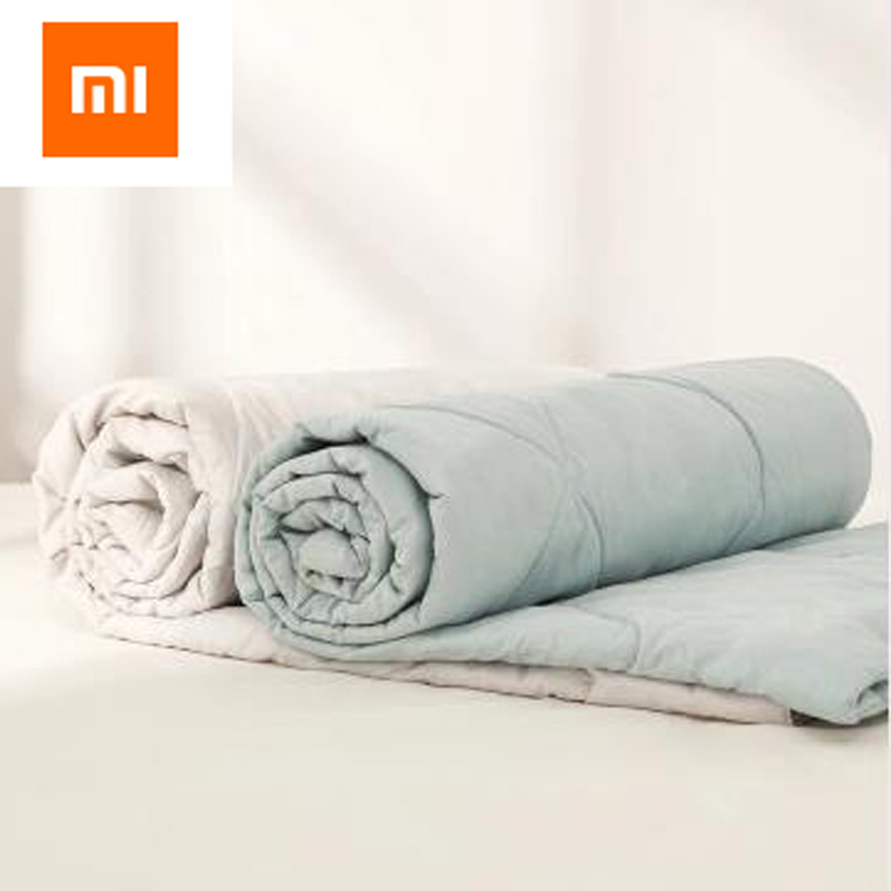 2colors Xiaomi Youpin 8H Quilt Air Conditioning Quilt Washed cotton antibacterial For Xiaomi Life 150cm 180cm