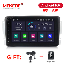 PX30 DSP 8 «Android 9,0 Автомобильный DVD плеер для Mercedes Benz W209 W203 W463 виано W639 Вито, Wi-Fi, 4G gps Bluetooth Радио стерео аудио