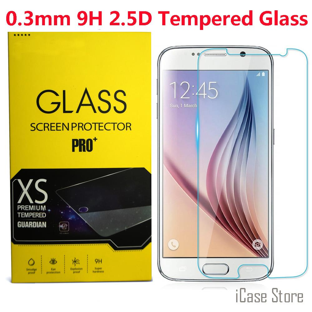 0.3mm 9H Explosion-proof Premium Tempered Glass For Samsung Galaxy S7 S3 S4 S5 S6 i9082 G530 G360 J1 Screen Protector Film Case image