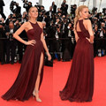 Sexy Celebrity Dresses 2016 New Arrives Red Carpet Vestidos Longos De Gala Imported Party Dress Simple China Clothing Cheap