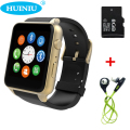 Impermeable 2502c smart watch gt88 cámara sim bluetooth v4.0 nfc pulsómetro apoyo iphone android mx a9 kw18 smartwatch
