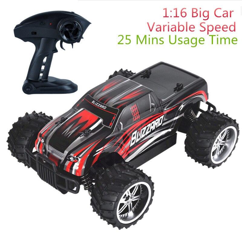 9504 1:16 voitures radiocommandées Radio Machine RC voiture vitesse réglable véhicules tout-terrain dérive voitures télécommandées pour enfants garçons