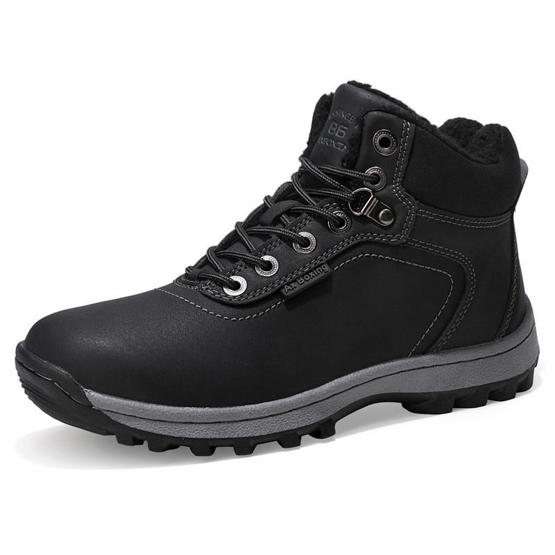 Neige D hiver Mode Brown Hommes light Caoutchouc Chaussures Bottes Avec En  A7445 Treasure 2019 khaki ... cfa63b29a8a