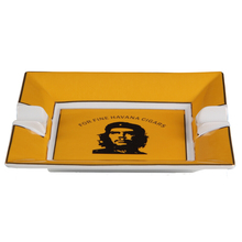 Керамическая пепельница для сигар COHIBA с 2 подставками, пепельница для сигар с изображением портрета, креативный дизайн, пепельница для курения, аксессуары для сигар asbak buiten