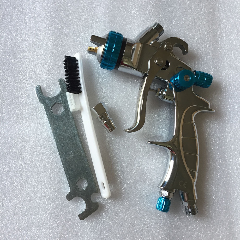 SAT1215 Air Paint Spray Guns Airbrush Professional HVLP Spray Gun for Car Painting HVLP Gravity Feed Type Pneumatic Nozzle Gun w 77s paint spray gun hvlp pneumatic air tool paint hvlp sprayer airbrush hvlp power tools professional air spray paint gun