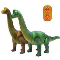 Newest Intelligent Remote Control Electric Interesting Dinosaur 41CM big size Dinosaur robot Toy For Kid gift speaking walking