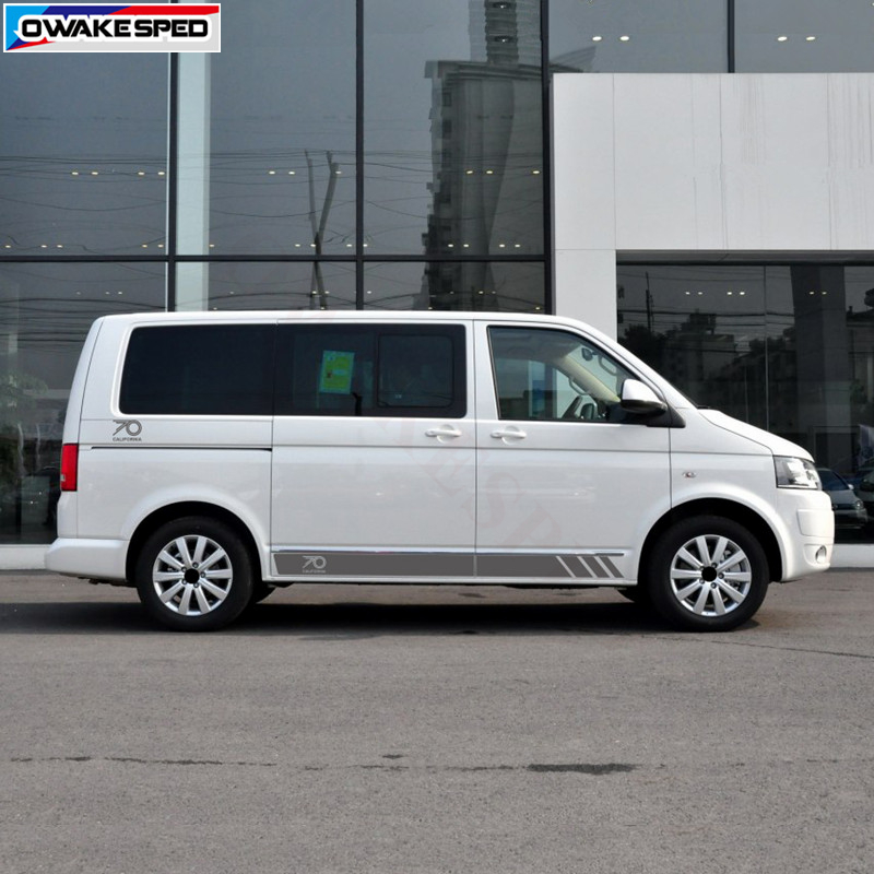 "Volkswagen 17/"" VW Stickers Transporter T6 T5 T4 Campervan Bonnet DECAL Graphic"