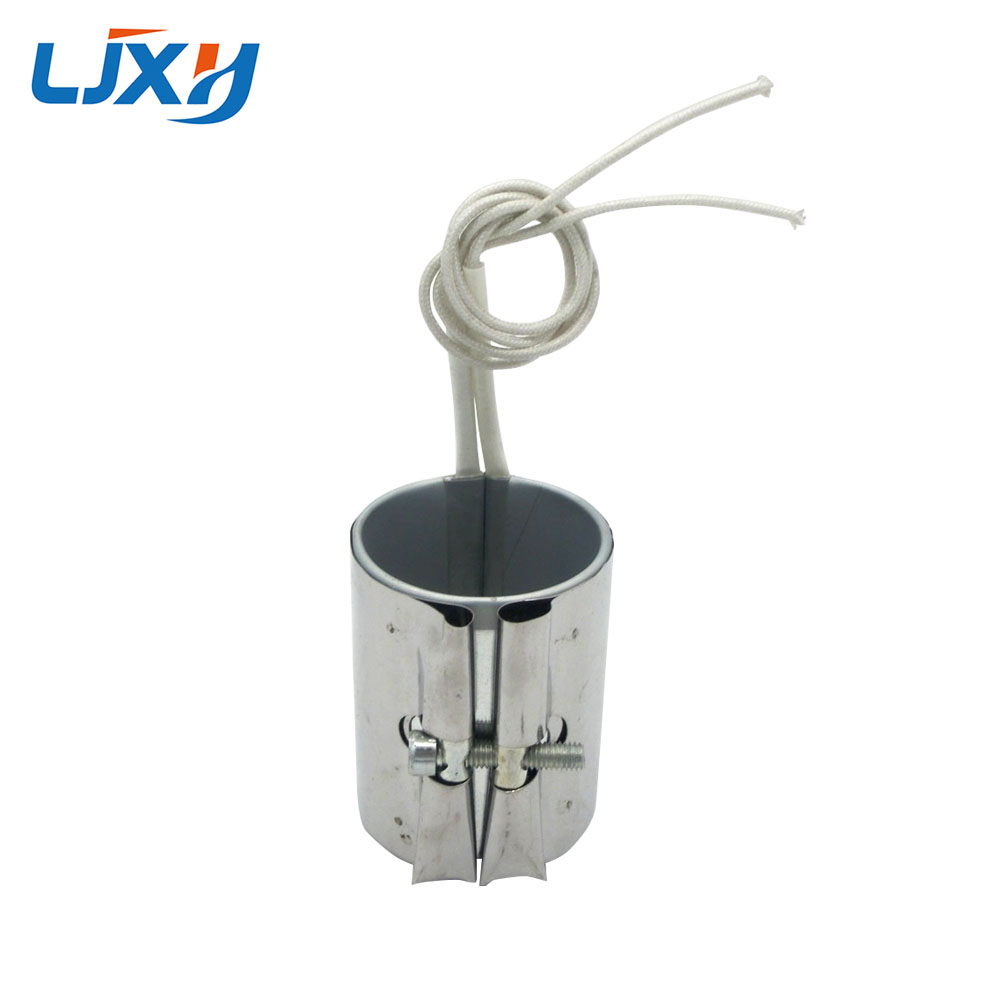 LJXH Electric Band Heaters Heating Element 50mm Inner Diameter 50mm55mm/60mm/70mm Height Stainless Steel 240W/260W/280W/320W ljxh w type electric finned tubular heat pipe m18 16 25 w shape fin heating element 220v 1500w 2000w 2000w 201 stainless steel