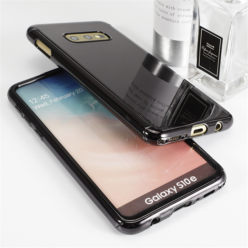 For Samsung Galaxy S10/S10e/S10plus Case Plating Shockproof Full Body Protective Note9 Cover+Full Coverage Soft Screen Protector