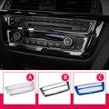 Автомобильный Стайлинг  кондиционер  CD панель  декоративное покрытие  отделка  авто аксессуары для интерьера  металлическая наклейка для BMW ...