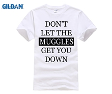 237c10306 Harry Funny Men T Shirt Potter Official Style Printed Don't Let The Muggles  Get