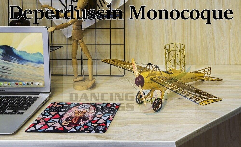 5% Pre Gebouwd Kit OnlyVintage Vliegtuig Model Deperdussin Monocoque Plane 1:13 Schaal Modelvliegtuigen Building Kit Vergadering Toy - 6