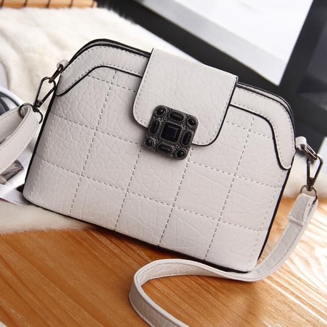 High Quality puers Leather Female Top-Handle bag Fashion Women Shoulder Bags Shell Stlye Ladies  Handbag Crossbody Bags MIWIND
