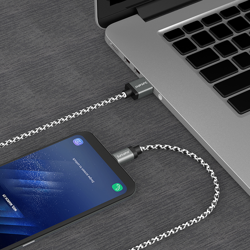 Suntaiho Micro USB Cable Charging Cable,Nylon Braided Fast Charging Mobile Phone USB Charger Cable for Samsung/xiaomi/LG/Huawei