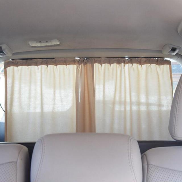 Aluminium Krimpbare Auto Achter Voorruit Side Window Zonneklep ...