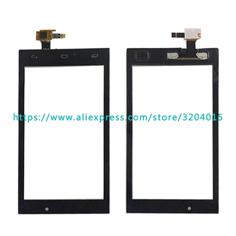 10 шт./лот Высокое качество 4,0 для Micromax Canvas огонь 4 A107 Сенсорный экран планшета Сенсор внешний Стекло объектив Панель черный, белый цвет