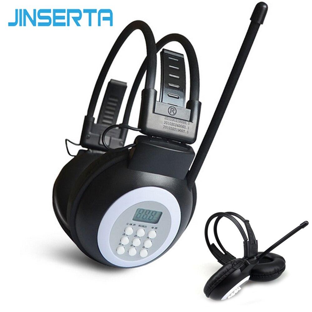 Tragbares Audio & Video Jinserta Mini Fm Radio Verdrahtete Kopfhörer Mit 3,5mm Jack Unterstützung Stereo Sound Auswahl Für Große Treffen Dauerhaft Im Einsatz