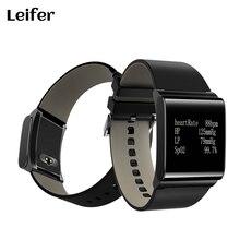 X9-Plus кожаный ремешок Smart Браслет SmartBand Приборы для измерения артериального давления Мониторы браслет измеритель пульса часы podemeter для iphone OPPO