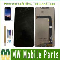 For Motorola Moto One Power P30 Note XT1942 LCD Display+Touch Screen Digitizer Sensor Black With Kit
