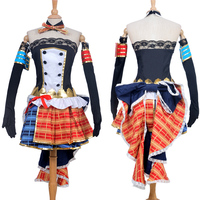 New Custom Made Japanese Anime Love Live UR Awakening Tojo Nozomi Maid Dress Cosplay Costume Christmas
