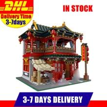 Plus Stock Xingbao 01002 3267 Pcs MOC Creative Série Belle Taverne Ensemble Enfants Éducatifs Blocs de Construction Briques Jouets Modèle