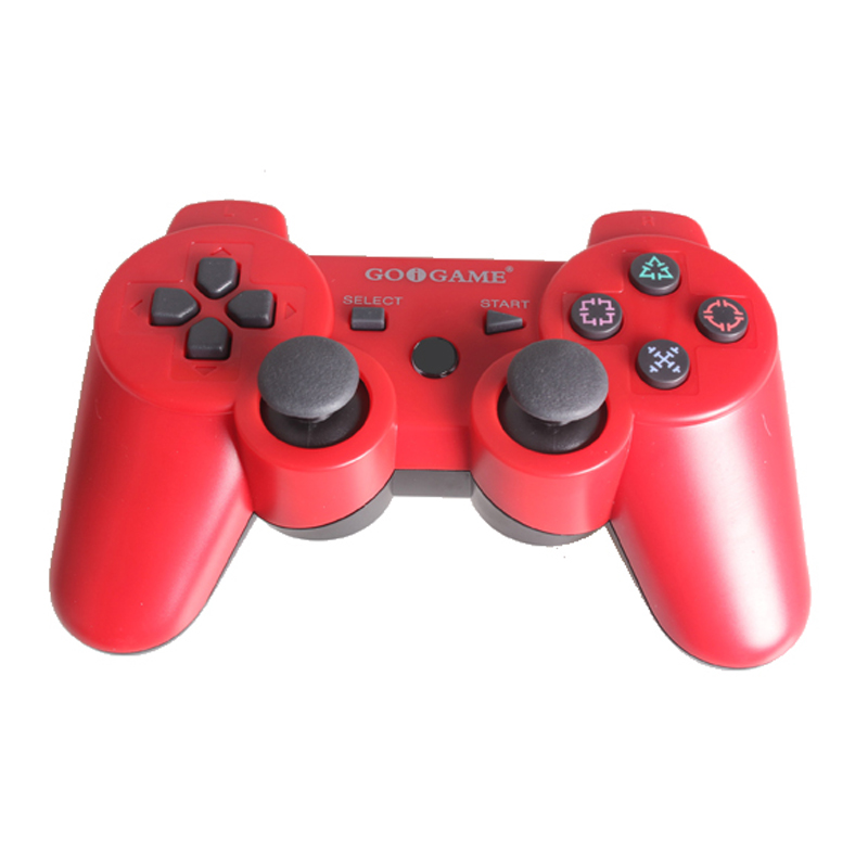 Wireless Double Shock Controller Joystick Joypad Vibration Six axis for PS3 L3EF