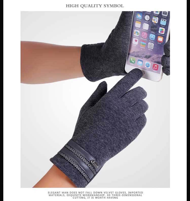 GLV814 New men touch screen font b gloves b font in winter outdoor sports cycling baseball