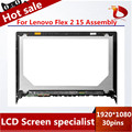original A+ For Lenovo Flex 2 15 Laptop LCD screen assembly LP156WF4 15.6 inches 1920*1080 Tested well before shipping