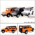 Candice guo! Yufeng Super cool 1:36 mini land defender sports car alloy model car toy birthday gift 1pc