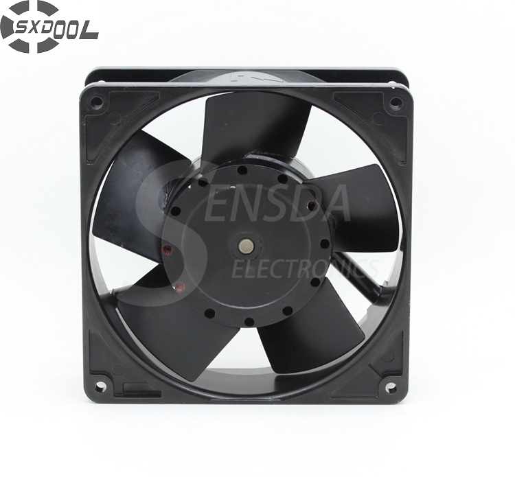 SXDOOL cooling fan 220v 3450 12738 127mm 12.7cm AC 220V 50 60Hz server inverter axial industrial купить