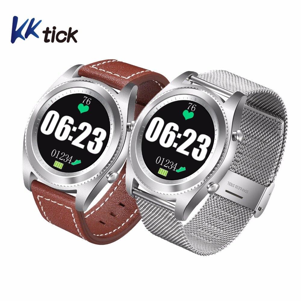 KKTICK S9 Смарт-часы MTK2502 Bluetooth 4,0 монитор сердечного ритма удаленного Камера фитнес-трекер браслет № 1 s9 smartwatch