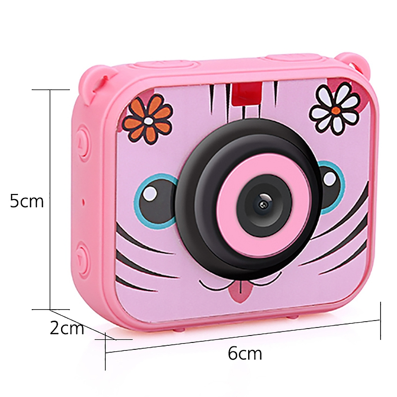 Image 3 - Cute Kids Digital Video Camera 1080p Action Sports Camera 30m Waterproof Built In Battery Gifts Present For Children Boys Girl-in 360° Video Camera from Consumer Electronics