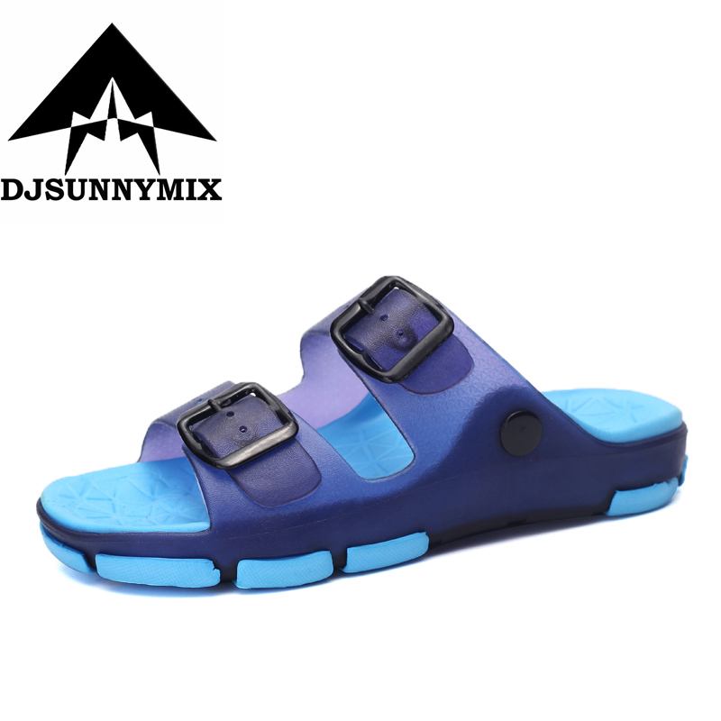 DJSUNNYMIX New summer children 2018 sandals slip-resistant wear-resistant small boy casual sandals girls boys shoes child summer