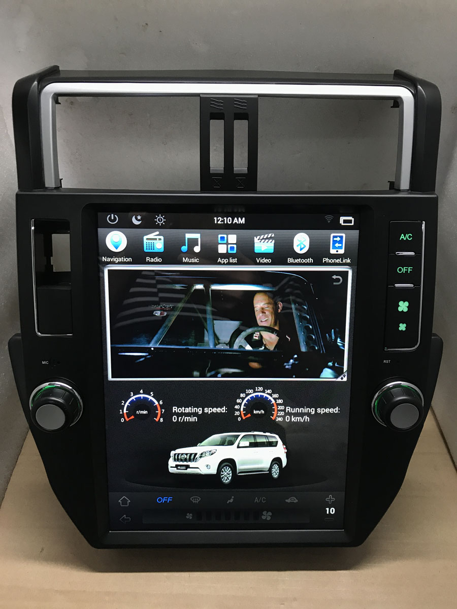 12 hd android 6 0 car stereo headunit byncg for toyota. Black Bedroom Furniture Sets. Home Design Ideas