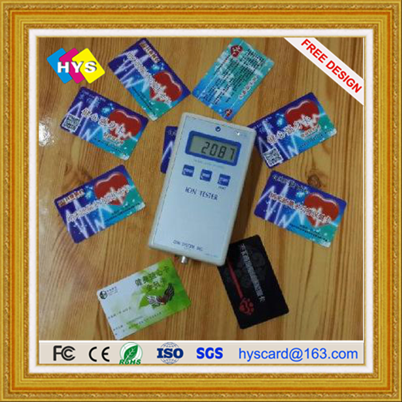 Bio Energy Card  For Health  And Buseiness Card Supply