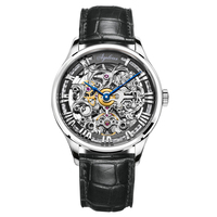 AGELOCER Original - Swiss Brand Watch Mens Watch - Mechanical Design - Skeleton Watch