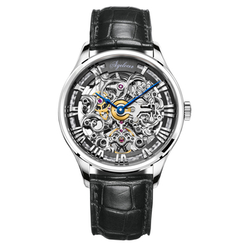 AGELOCER Original - Swiss Brand Watch Mens Watch - Mechanical Design - Skeleton Watch