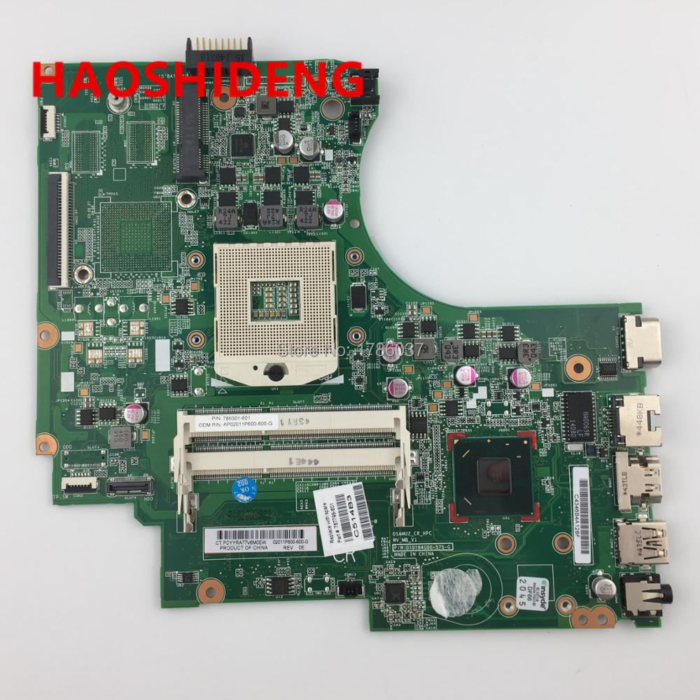 787799-001 787799-501  for  HP 250 G2 15-D series motherboard with HM76 video card.All functions fully Tested ! high quality 747149 001 747149 501 mothrboard fit for hp 15 d 250 g2 series notebook pc system board 100