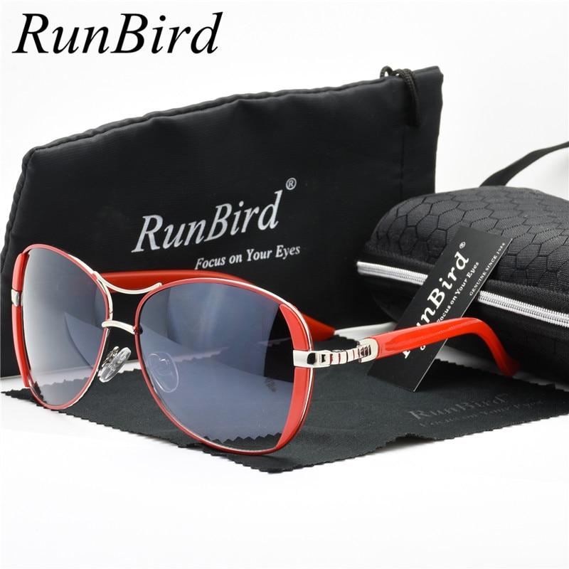 Runbird Sunglasses Driving Box-Case Oculos-De-Sol Classic Ladies Women Luxury Brand Designer