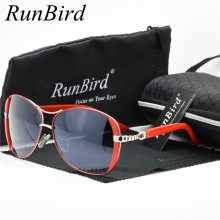Runbird 2017 Women Luxury Brand Designer Sunglasses Driving Sun Glasses Classic Ladies Oculos de sol Feminino With Box Case R071
