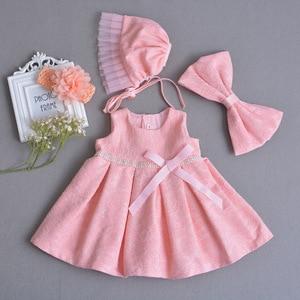 55-60 centimetri Del Bambino Del Vestito Dalla Ragazza reborn doll accessori del bambino della bambola della principessa del vestito vestiti del bambino abbigliamento battesimale vestito bambola accessori