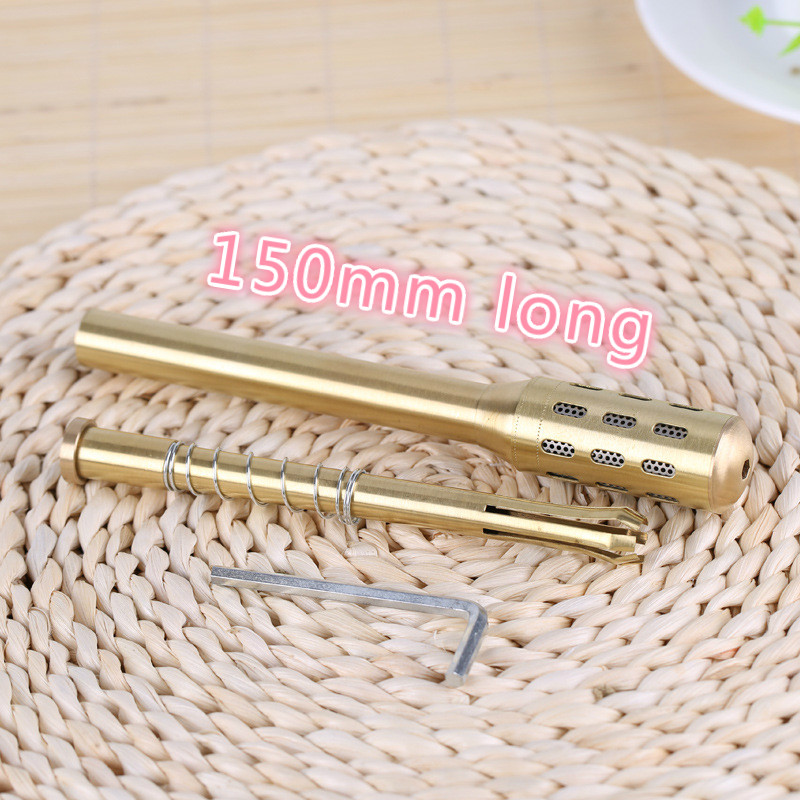 small Moxa Roller Pure Copper Moxa Stick Facial Abdomen Moxibustion Massage Moxa Roll Burner Stick Body Health Care high quality lp electric guitar aged james hetfield signature lp guitarra iron cross model in stock for sale