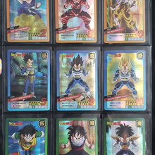 55 шт. Dragon Ball Super Ultra Instinct Goku Jiren экшн-игрушки Фигурки часы в советском стиле игра флэш-карты коллекционные карточки