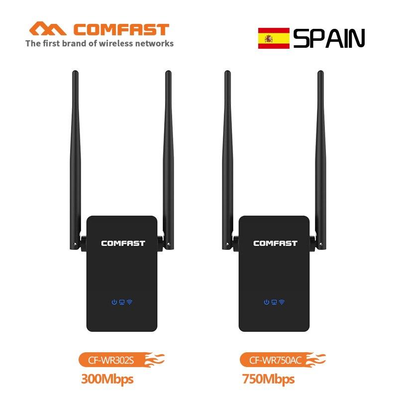 Inalambrico WiFi Repetidor De Enrutador Extensor De Señal 750Mbps WPS WLAN Nuevo
