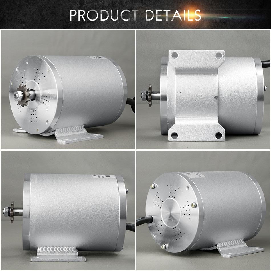 KUNRAY 48VDC 1500W 1600W Electric Scooter Motor BLDC Electric Bicycle E Bike Mid Drive Motors High Speed Balance Two Wheel Motor-in Electric Bicycle Motor from Sports & Entertainment    1