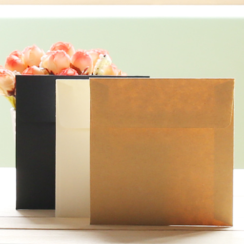 40pcs/ Lot Paper Envelopes Romantic Plain Blank Kawaii  Sobres Papel/invitation Envelope Gilt Decorated/whloesale